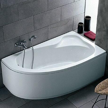 Ideal standard vasca asimmetrica 160 x 90 mod praxis sx bianca ultima disp ebay - Vasche bagno angolari ...
